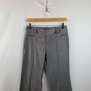 Banana Republic Dress Pants Sz 2 Flat Front Gray
